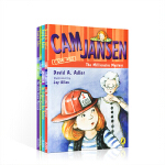 英文原版 Cam Jansen 侦探故事第31-34 (4册)儿童读物章节桥梁书 5-8-12岁英语分级阅读儿童小说