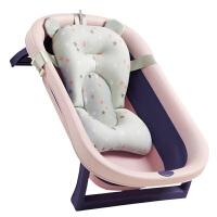 婴儿洗澡盆宝宝折叠浴盆家用可坐躺新生儿用品男女小孩沐浴桶大号