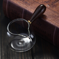 耐热玻璃侧把公道杯泡茶杯分茶器泡茶公杯小茶海功夫茶具配件