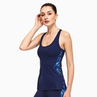 运动背心女速干透气长款带文胸女士跑步 健身训练运动式BRA瑜伽运动背心