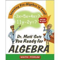 【预订】Dr. Math Gets You Ready For Algebra: Learning