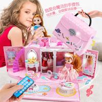 玩具女孩公主娃娃家城堡别墅房子儿童过家家小孩女童礼物3岁6
