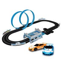 电动遥控双轨道车赛车赛道车儿童轨道赛车玩具