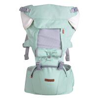费雪 Fisher-Price 婴儿宝宝背带腰凳抱娃神器 新生儿儿童双肩多功能抱凳 四季款透气系列 多功能 薄荷绿