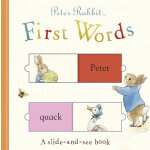Peter Rabbit First Words: A Slide-and-See Book彼得兔的第一本词汇书ISB