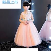 礼服蓬蓬裙蝴蝶仙子女童婚纱公主裙花童礼服女钢琴表演礼服裙