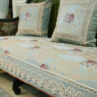 欧式沙发垫冬季坐垫防滑美式四季通用123组合套客厅定做