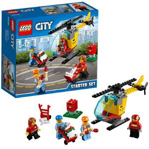 [当当自营]LEGO 乐高 City城市系列 机场入门套装 积木拼插儿童益智玩具60100