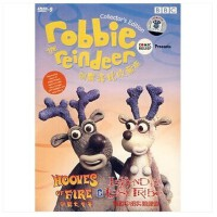 原装正版 驯鹿洛比收藏版(驯鹿大竞赛传说中的失落部族)DVD-9 光盘