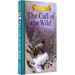 野性的呼唤英文原版 The Call of the Wild 杰克・伦敦 Classic Starts 专门为孩子编的