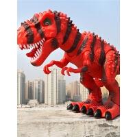 仿真动物男孩玩具3-6岁礼物 儿童恐龙玩具套装 走路电动霸王龙遥控