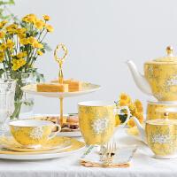 英式下午茶茶具套装骨瓷咖啡具欧式陶瓷红茶杯碟子