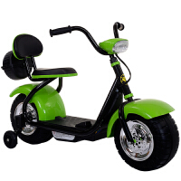 电动小摩托儿童新款小哈雷儿童电动摩托车童车三轮车男女宝宝可玩具车2-6岁