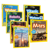 英文原版绘本 国家地理 National Geographic KIDS Readers 3阶8册儿童百科图书 6-7