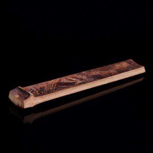 棕竹竹片手雕香插