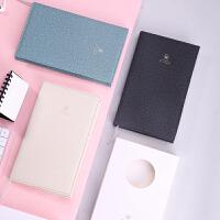 得力SZ602简约手帐本小清新随身小笔记本文具记事本子144张手账本