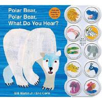 Polar Bear, Polar Bear What Do You Hear? Sound Book 北极熊,北极熊