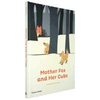 【预订】Mother Fox and Her Cubs狐狸妈妈和她的宝宝 折页塑形亲子绘本