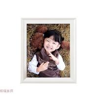 宽欧式实木相框5 6 7 8 10 12寸A4摆台七寸挂墙创意儿童照片画框