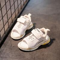 童鞋夏季新款儿童凉鞋百搭女童鞋子休闲鞋网面