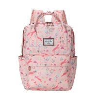 卡拉羊双肩包女大小高中学生书包初中韩版时尚潮流休闲旅行背包CX5377