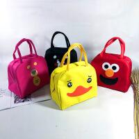 卡通饭盒袋 动漫可爱午餐包 保温包学生保温袋牛津布手提袋定制