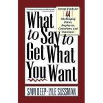 【预订】What to Say to Get What You Want