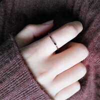 love食指戒指女日韩国版潮人学生细简约饰品个性