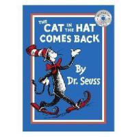 英文原版儿童书 The Cat in the Hat Comes Back 苏斯博士:戴高帽子的猫又来了(书+CD)