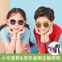 KK树儿童太阳镜男防紫外线正品时尚宝宝墨镜偏光女童眼镜可爱韩版