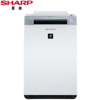 夏普(SHARP) 空气净化器 KI-GF60-W 家用除PM2.5甲醛异味雾霾二手烟加湿杀菌