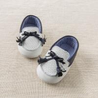 [2件3折价:60]戴维贝拉春季新款婴儿宝宝羊皮革步前鞋DB6733