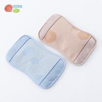 贝贝怡宝宝冰丝枕头夏季茉莉花茶叶填充儿童凉枕婴儿用品