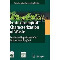 【预订】Ecotoxicological Characterization of Waste: Results Y97