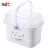奶瓶奶粉箱 儿童餐具存储箱 婴儿储物盒婴儿便捷收纳盒 宝宝