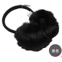 男女士秋冬天保暖发箍耳套 潮时尚兔毛耳包 兔毛耳罩