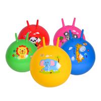 户外玩具充气儿童皮球羊角球跳跳球儿童幼儿园皮球按摩球