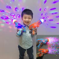 天天特价七彩投影儿童电子玩具枪手枪 男女宝宝发光音乐声光手枪3