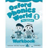 Oxford Phonics World: Level 1: Workbook【英文原版】牛津拼读世界1级:练习册