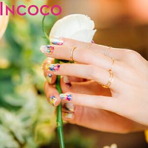 INCOCO美国原装进口正品指甲油贴膜美甲贴防水持久 魔力仙子【支持礼品卡支付】