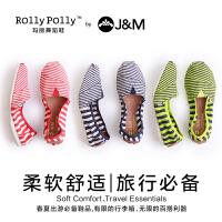 jm快乐玛丽春秋新款韩版潮低帮女鞋休闲帆布鞋舞蹈鞋子61529W