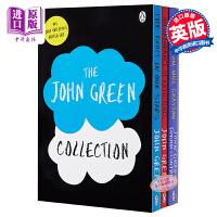 【中商】约翰・格林作品(无比美妙的痛苦、那么多的凯瑟琳、两个威尔)英文原版 John Green Collection 爱情青少年畅销小说