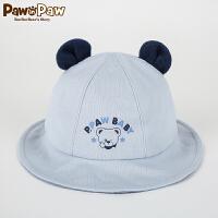 【2件2.5折 到手价:32】Pawinpaw宝英宝卡通小熊童装冬季款男女宝帽子PBAC74984M