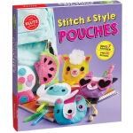 Stitch and Style Pouches 英文原版 Klutz 手工Diy制作 儿童钱包