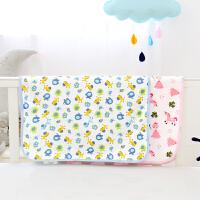 宝宝双面可用尿垫小号婴儿隔尿垫透气可洗