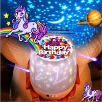 浪漫星空灯投影灯仪旋转海洋灯抖音同款梦幻生日礼物女生儿童玩具礼品