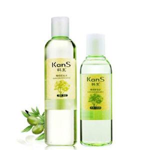 韩束橄榄卸妆水320ml(送200ml卸妆水)温和眼唇部脸部保湿卸妆乳液深层清洁