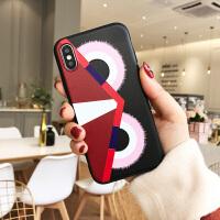苹果6手机壳小恶魔iPhone7plus个性创意i8挂绳防摔6s全包硅胶软壳