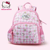 Hello Kitty凯蒂猫 KT1046粉红 女童护脊书包幼儿园女童可爱背包 当当自营