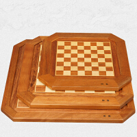 象棋盘 木制棋盘实木包边八角象棋盘搭配棋子
